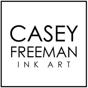 CASEY FREEMAN INK ART